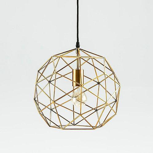 Rona Hanging Lamp - Golden Metal