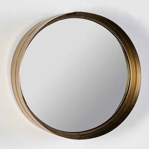 Lulu Espejo 36x10x36 - Metal Dorado