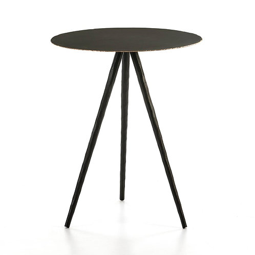 Sara Side Table - Black Metal