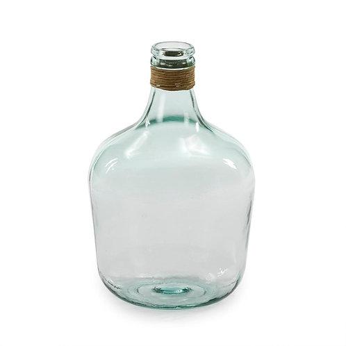 Vera Botella Decorativa  27x27x42 - Cristal