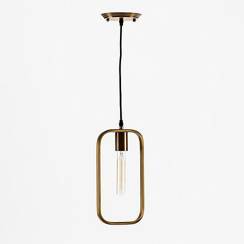 Sandra Hanging Lamp - Golden Metal