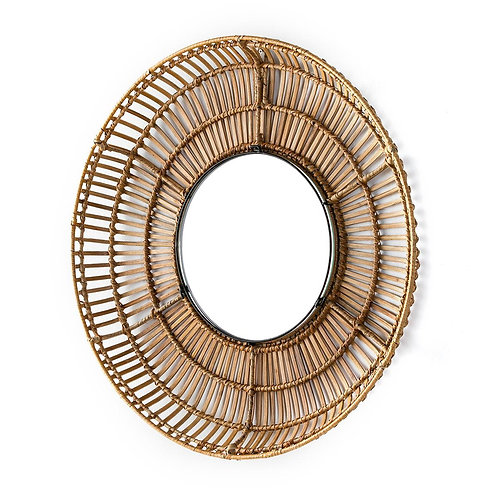Rama Mirror - Natural Wicker