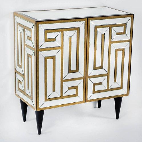 Cristina Sideboard - Mirror/Golden MDF