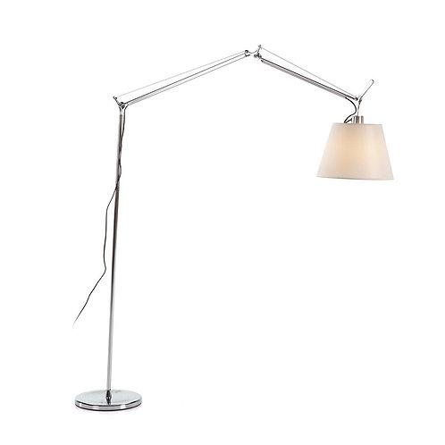 Harriet Floor Lamp - Silver Aluminum