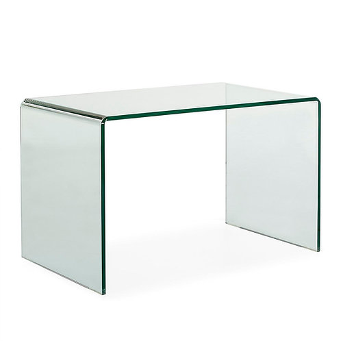 Kara Desk - Transparent Glass