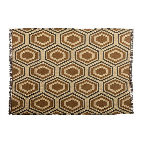 Natalia Rug - Natural/Brown/Black Jute & Wool