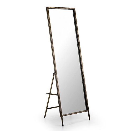 Pilar Mirror - Golden Metal