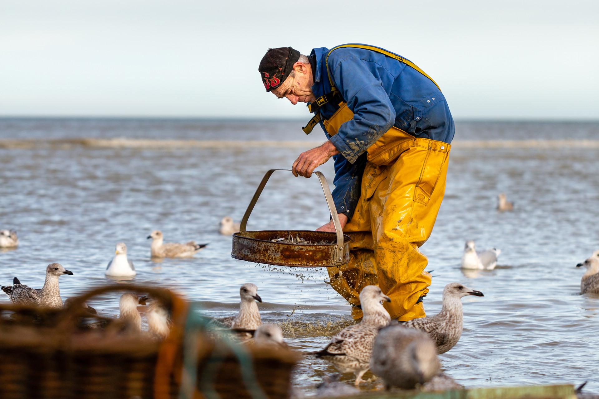 Research Horseback Fisherman