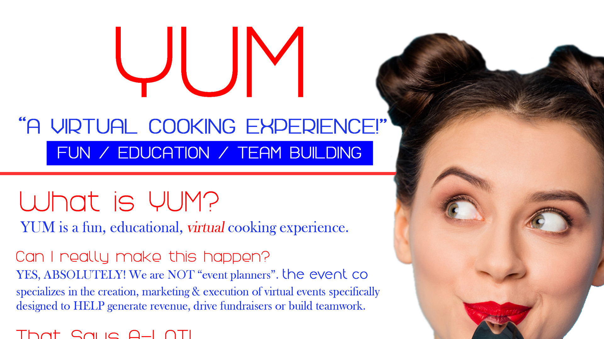 THE EVENT CO YUM