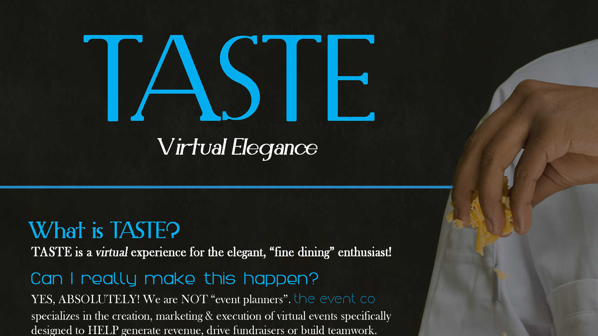 THE EVENT CO TASTE