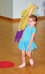 Pr-school dancer