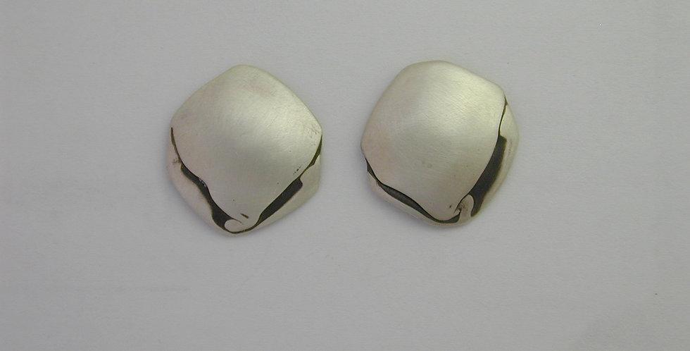 Earrings- Crushed diamond shape