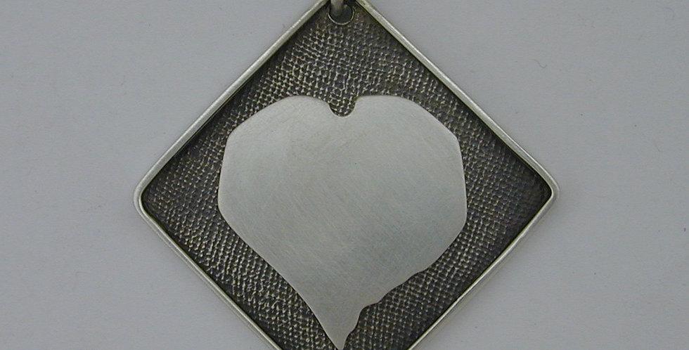 Custom heart_retirement pendant