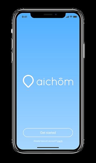 iphonex_aichom_app_screen1.png