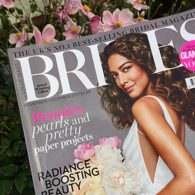 We are in BRIDES Magazine!