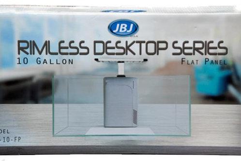 JBJ RL Desktop 10 Gal Flat Panel Peninsula