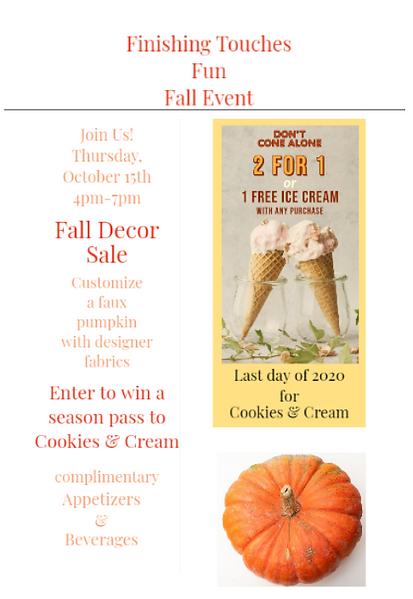 Fall Decor Sale