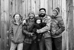 Reber Rock Farm Family, Adirondacks, 2015
