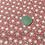 Thumbnail: Dandelion Cotton Fabric, Red Cotton Fabric, Nature Cotton Fabric, Flower Cotton
