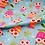Thumbnail: Owl Cotton Fabric, Robert Kaufman Cotton Fabric, 'On A Whim' Fabric, Owl Fabric,