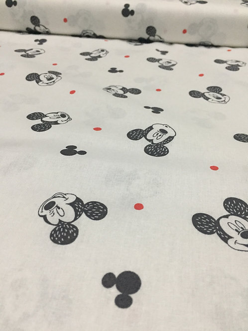 Mickey Mouse licensed print, 100% cotton
