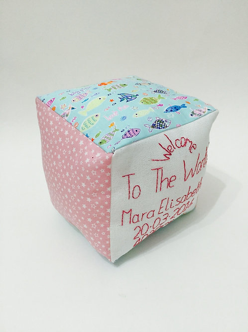 Personalised Welcome to the World New Baby Gift