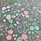 Thumbnail: Woodland Cotton Fabric | Nature Cotton Fabric, Grey Cotton Fabric