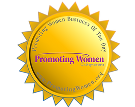 Promoting Women in Business Winner