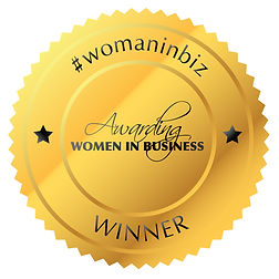 Awarding Women in Business Winner