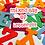 Thumbnail: Mixed Bag Letters, Large Felt Letters, Mixed Letters, Mixed Stick On Letters
