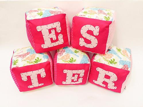 Fabric Baby Blocks | Fabric Toys | CE Tested Toys | Soft Blocks | Alphabet Block
