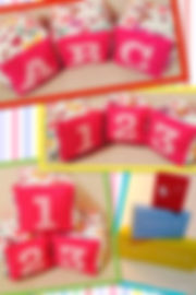 Fabric Name Blocks