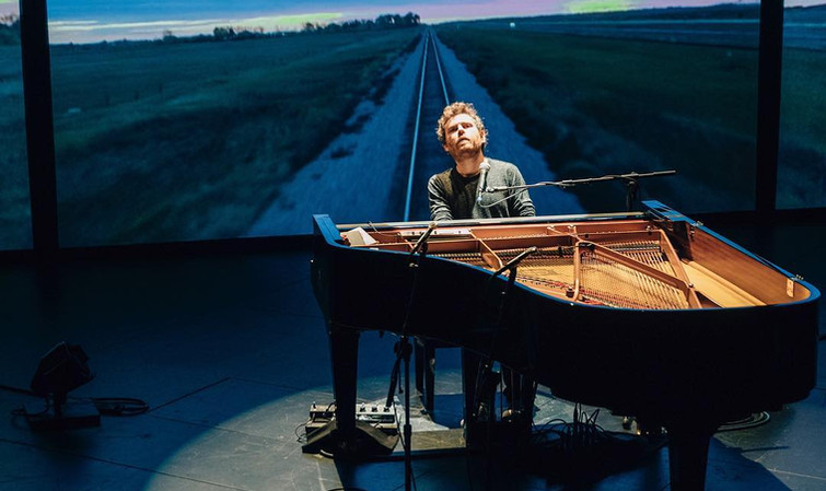 Gabriel Kahane in 8980: Book of Travelers at BAM Next Wave