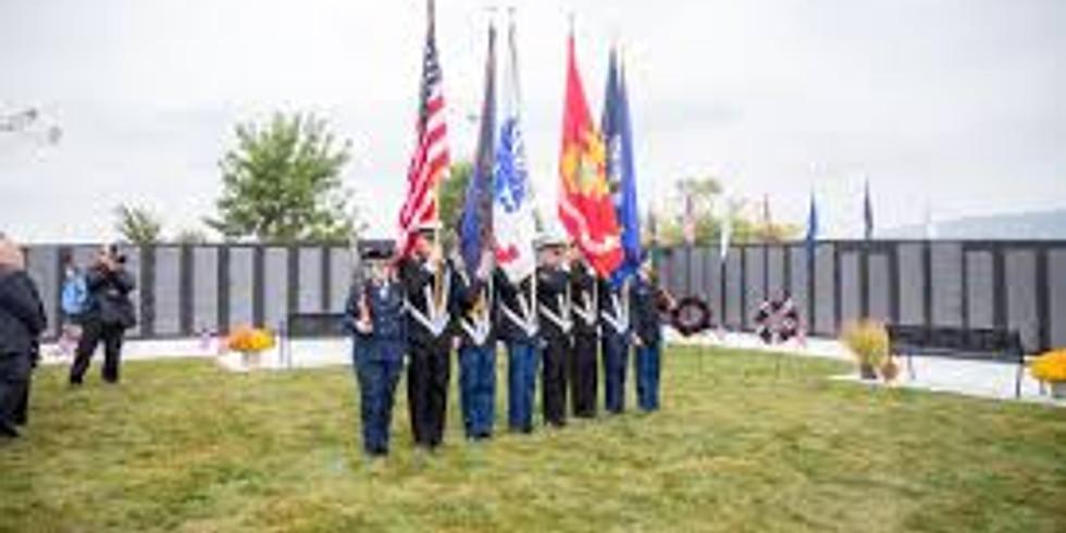 The Vietnam Memorial Wall Closing Ceremony