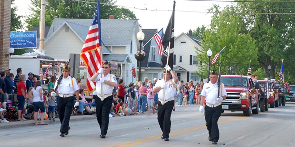 Genoa Ohio Homecoming Parade