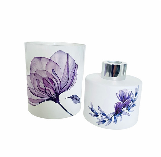 Purple Poppy Candle - 30cl