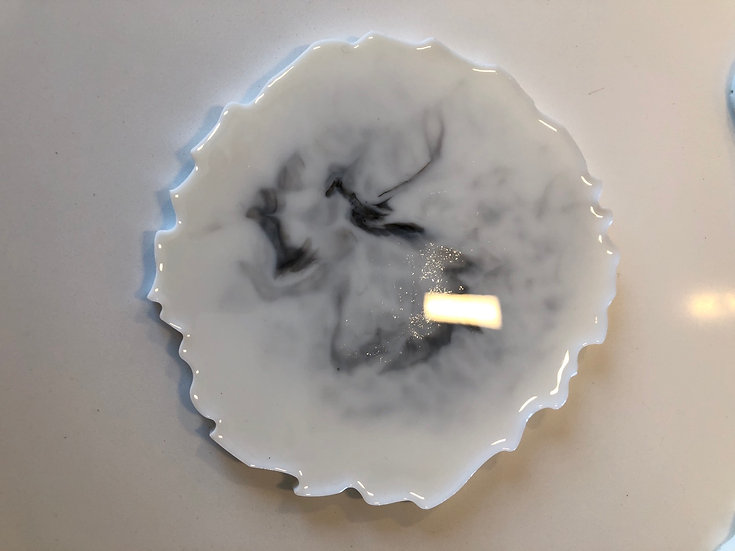 RESIN CANDLE COASTERS