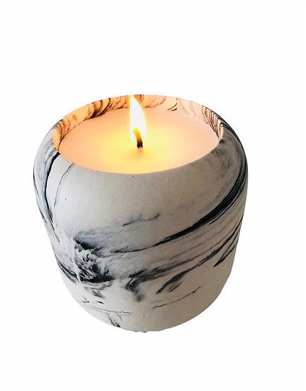 Aleta Marble Candle