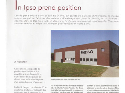 ARTICLE DE PRESSE IN IPSO