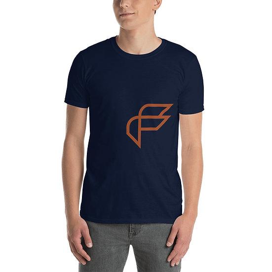 Factus 002 Big F only Short-Sleeve Unisex T-Shirt