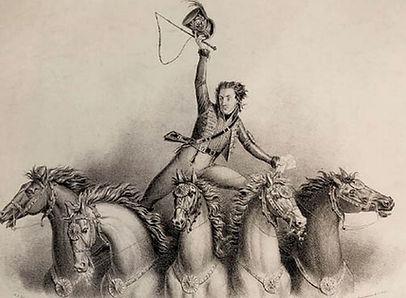 Philip Astley,horses,250 years of Circus