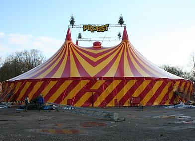 Circus Probst - Gelsekirchener Weihnachtscircus