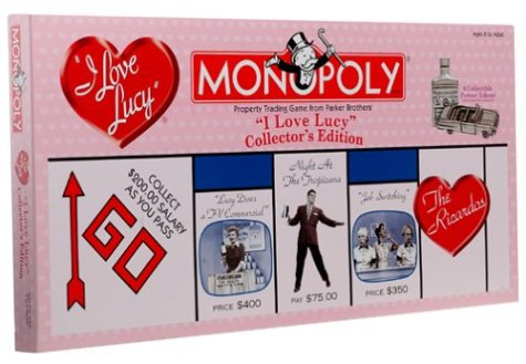 I Love Lucy Monopoly Collector's Edition