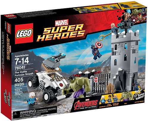 LEGO 76041 Super Heroes The Hydra Fortress Smash