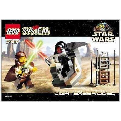 LEGO 7101 Star Wars Lightsaber Duel
