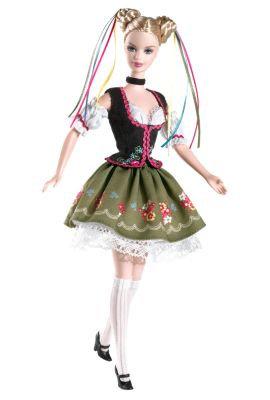 Barbie Festivals of the World Oktoberfest Pink Label Doll