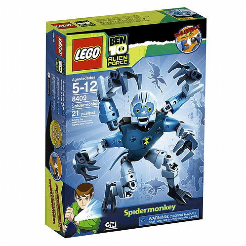 LEGO 8409 Ben 10 Alien Force Spidermonkey