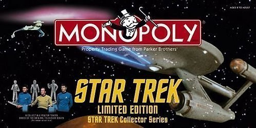 Star Trek Monopoly Limited Edition
