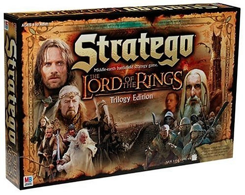 Lord of the Rings Stratego Trilogy Edition