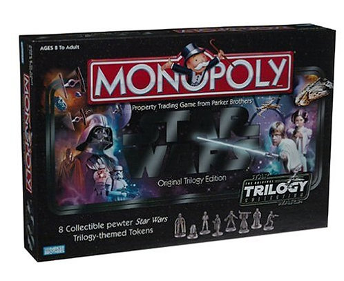 Star Wars Monopoly Original Trilogy Edition